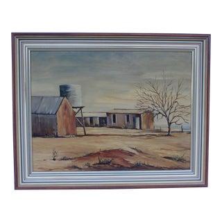 May Jones Australian Oil Painting
