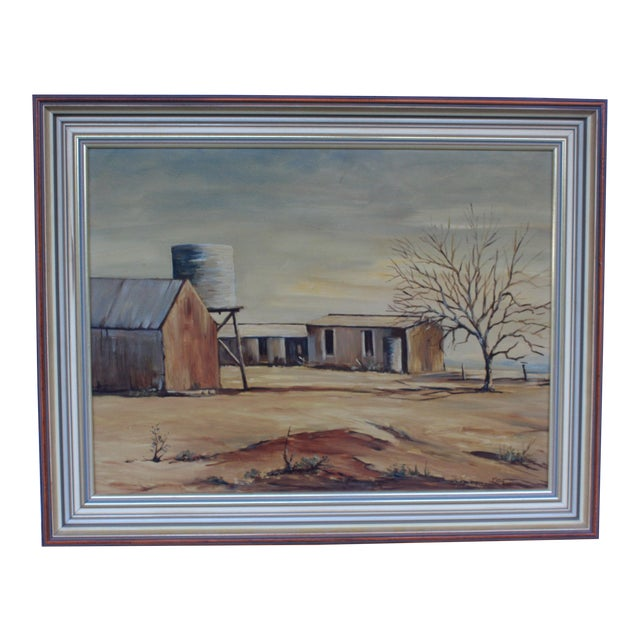 May Jones Australian Oil Painting For Sale