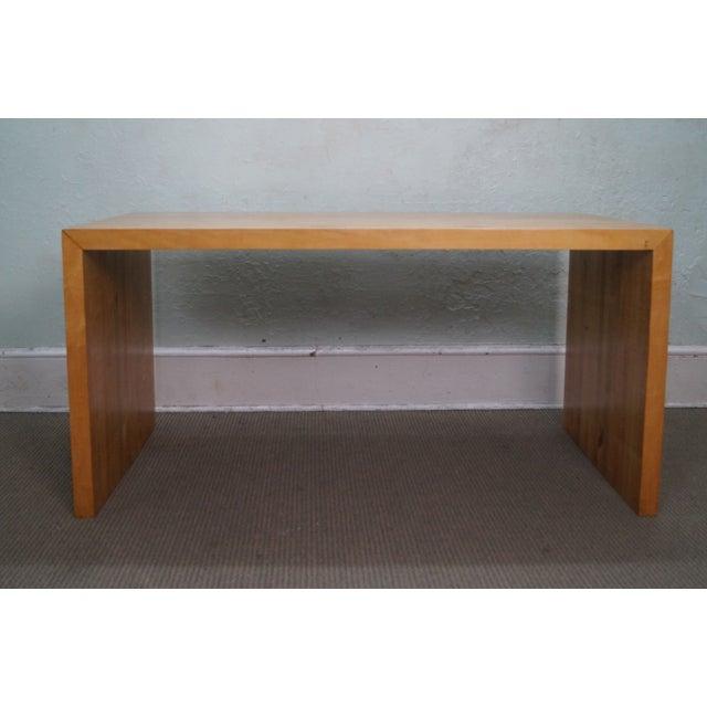 Mid-Century Parsons Slab Desk - Image 3 of 10