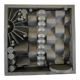 Contemporary Assemblage Sculpture After Louise Nevelson For Sale
