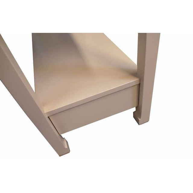 Modern Customizable Hartman Pull-Out Console Nightstand For Sale - Image 3 of 3