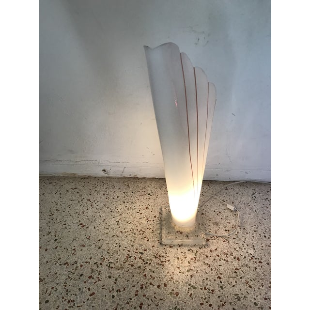 Lucite Table Lamp Styled After Rougher For Sale - Image 9 of 11