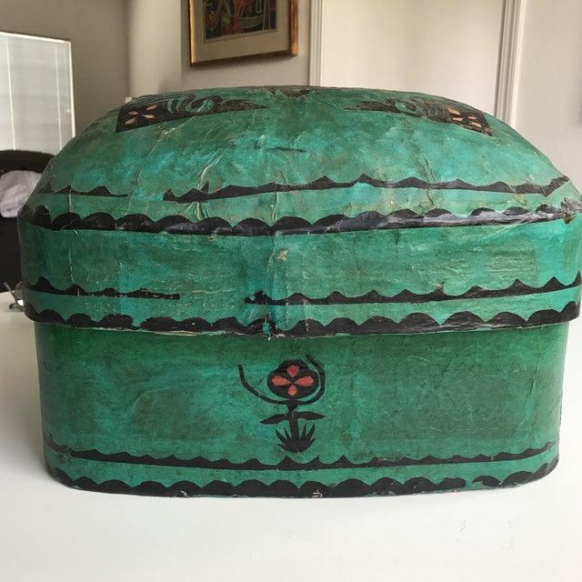 Antique Paper Mache Box - Image 6 of 7