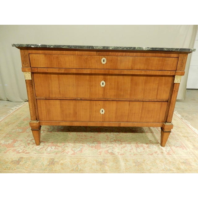 Early 19th Century Biedermeier Walnut Commode For Sale - Image 13 of 13
