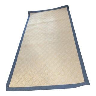 Stark Custom Made Wool Sisal Carpet - 4′ × 8′ For Sale