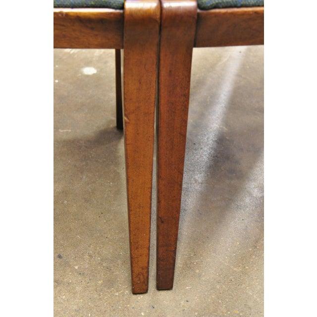 Drexel Dateline John Van Koert Walnut Mid Century Modern Dining Chairs - a Pair For Sale - Image 12 of 13