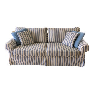 1990s Vintage Beach and Boho Three Seater Sofa For Sale