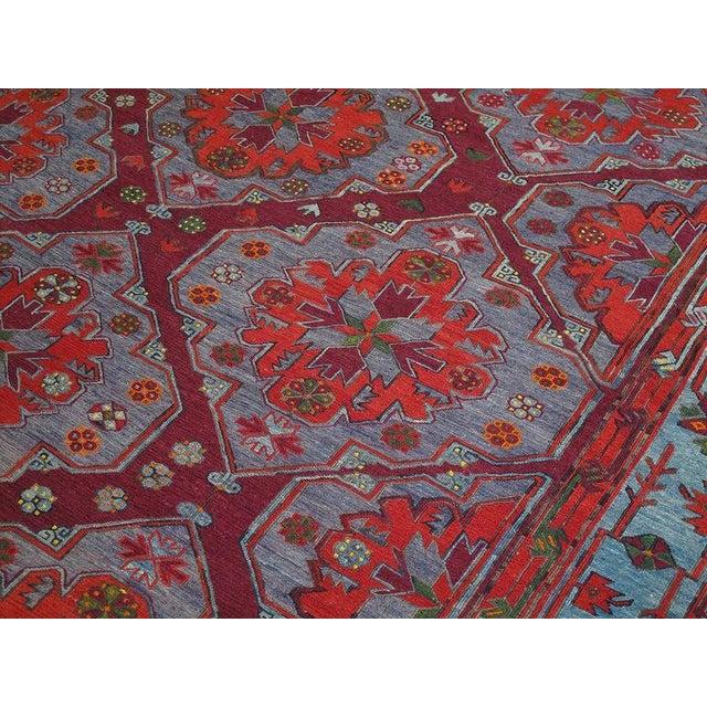 Caucasian Sumak Carpet For Sale In New York - Image 6 of 10