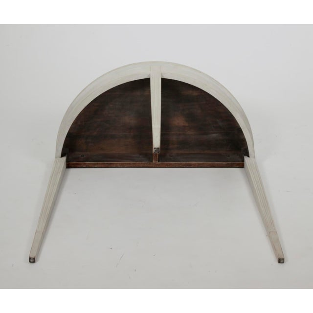 Early 20th Century 20th Century Gustavian Demi Lune Table For Sale - Image 5 of 6