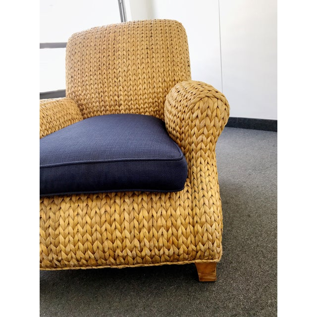 Bamboo Ralph Lauren Hurley Club Chair For Sale - Image 7 of 13