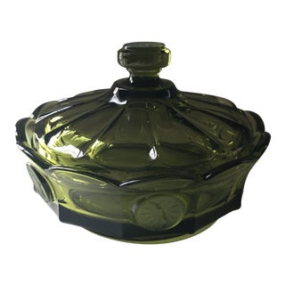 Fostoria Coin Glass Candy Dish For Sale