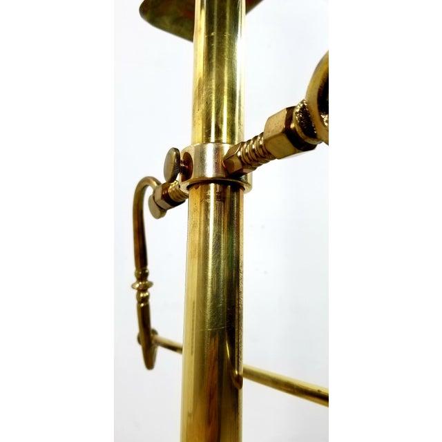 Brass 1960s Hollywood Regency Gentleman Brass Valet For Sale - Image 8 of 13