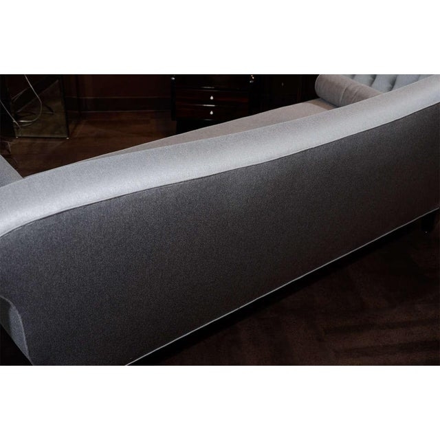 1940s Hollywood Scrolled Sofa For Sale - Image 9 of 11