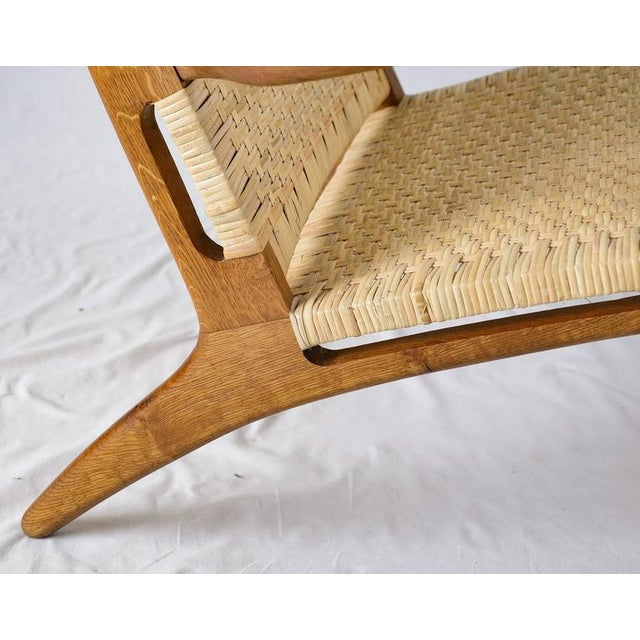 Hans Wegner CH-27 Lounge Chair For Sale - Image 9 of 10