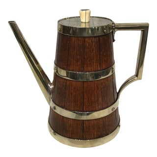 19th Century English Coffee Pot For Sale