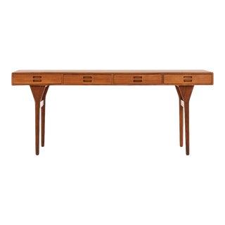 1950s Nanna & Jorgen Ditzel Teak Desk For Sale