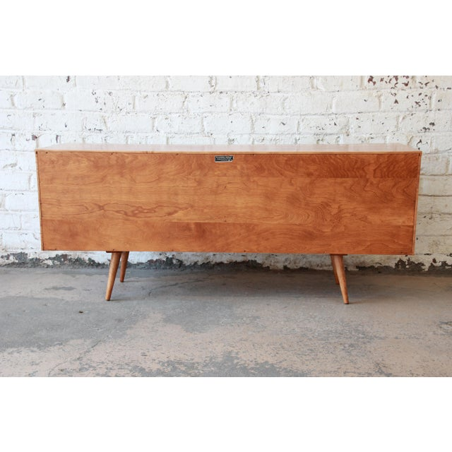 Paul McCobb Planner Group Credenza or Record Cabinet For Sale - Image 10 of 12