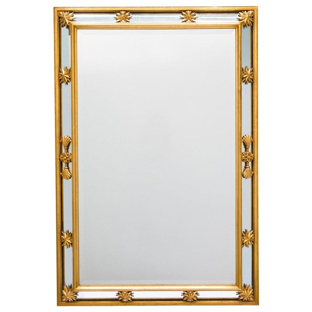 Neoclassical Style Star Mirror For Sale