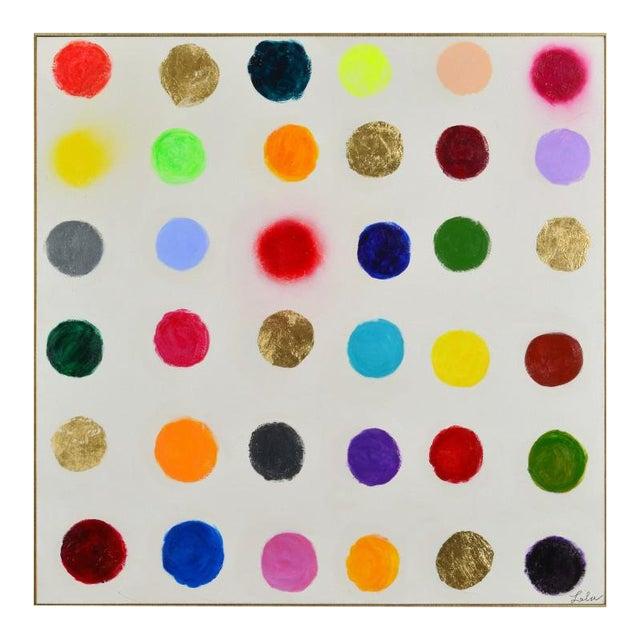 Pop Art Modern Colorful Framed Painting | Chairish