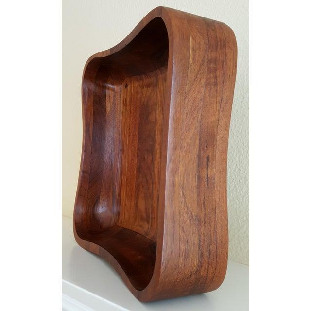 Ernest Sohn Rectangular Siamese Teak Bowl - Image 6 of 11