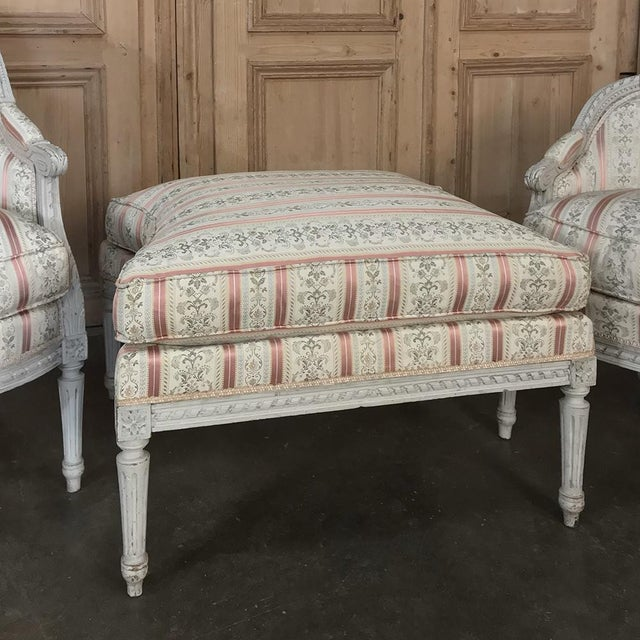19th Century French Louis XV Chaise Duchesse Brisee (Chaise Lounge) For Sale - Image 12 of 13