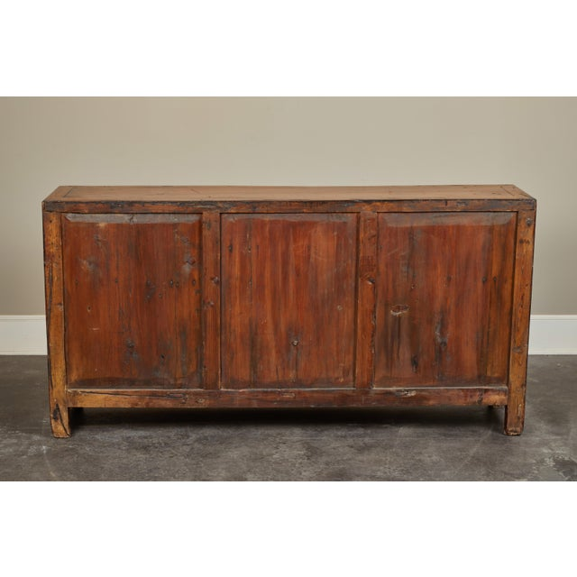Rare 19th Century Chinese Elm Sideboard For Sale In Los Angeles - Image 6 of 10