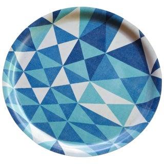 Sven Markelius / Viola Grasten Pythagoras Geometric Plywood Cocktail Drinks Tray For Sale