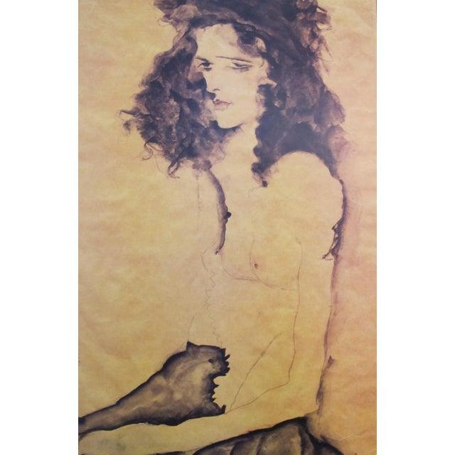 1989 Egon Schiele American Exhibition Poster - Image 3 of 4