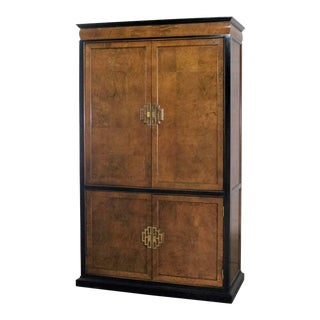 Large Chin Hua Entertainment Storage Armoire by Raymond K. Sobota for Century Furniture For Sale