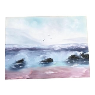 """Ocean in Spring"" Original Painting"