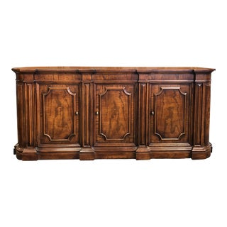 1960's Classic Walnut Buffet by Henredon Fine Furniture For Sale