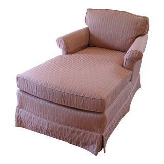 1990s Vintage Ethan Allen Chaise Lounge For Sale