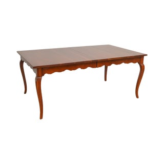 Drexel Heritage Regency Style Mahogany Dining Table For Sale
