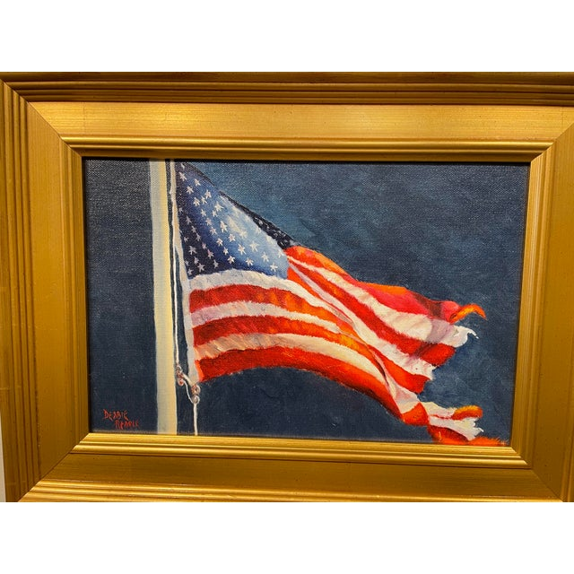 Tattered and Torn. This is a giclée, painted by Boston artist Debbie Hearle