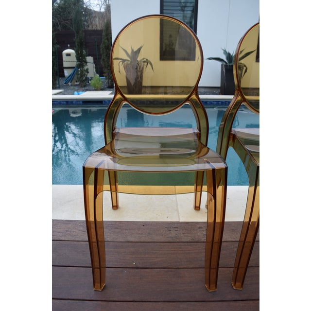 four hands amber ghost chairs set of 6 chairish