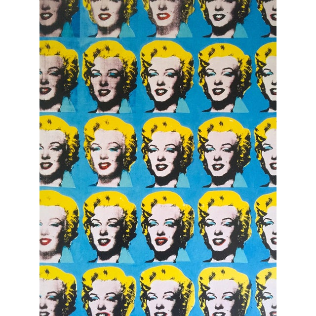 """1990s Andy Warhol Foundation Rare 1993 Lithograph Print """"Twenty Five Marilyns"""" 1962 For Sale - Image 5 of 10"""