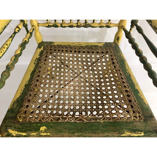 Mid 19th Century American Fancy Spindle Chair For Sale - Image 5 of 7
