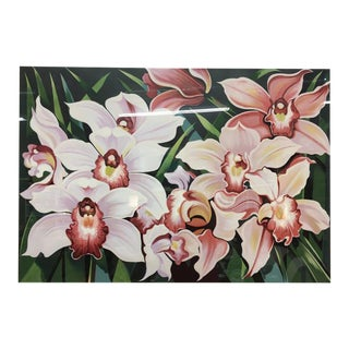 "1981 Serigraph ""Cattleya Orchids"" by Lowell Nesbitt"