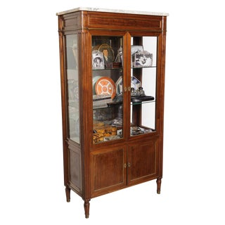 French Vitrine Cabinet For Sale