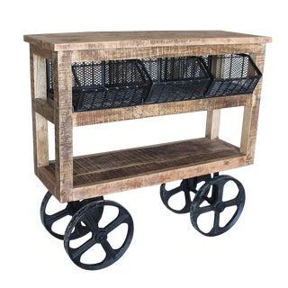 Reclaimed Wood Trolley