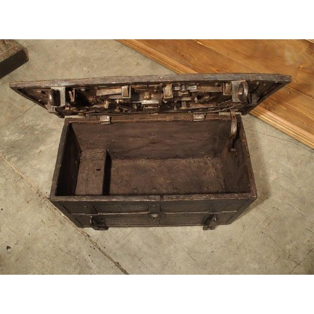 17th Century Iron Strongbox from a Ship For Sale - Image 9 of 11