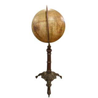 Late 19th Century Joseph Schedler Globe