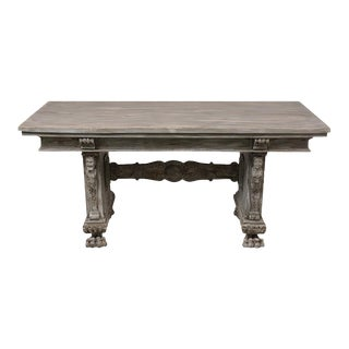 Antique Italian Renaissance-Style Dining Table For Sale