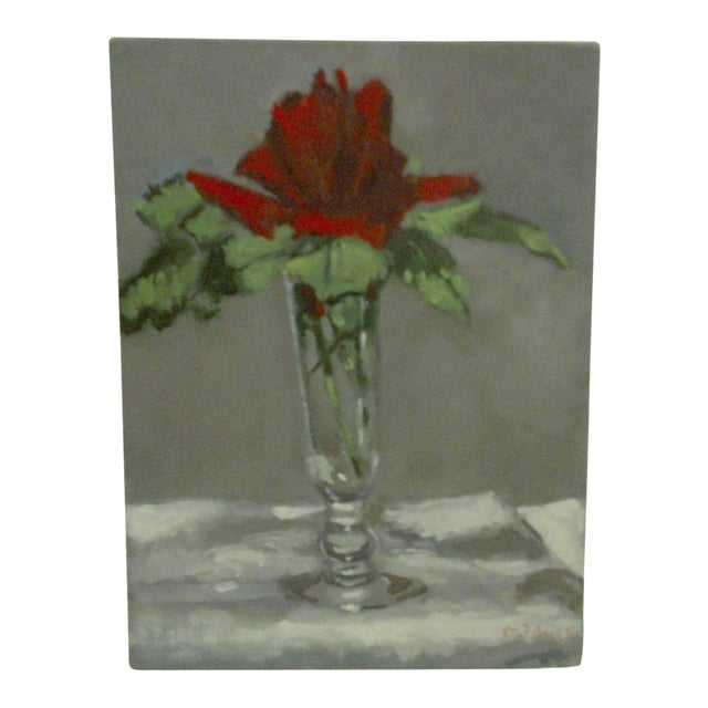 """Flowering Vase"" Original by Painting McDuff For Sale"