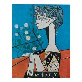Picasso Portrait De Jacqueline, 1971 Photogravure From Paris