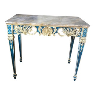 Painted 1920s Console Table