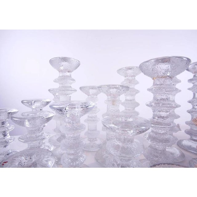 "1970s ""Ice Crystal"" Candlesticks - Set of 36 - Image 3 of 5"