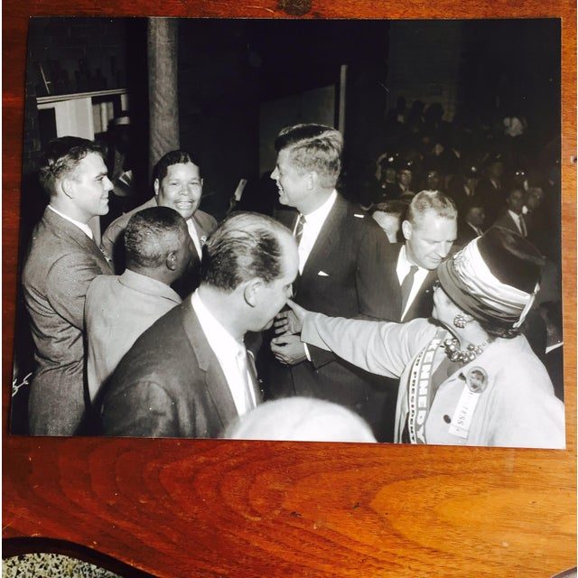 Original Charles Harris JFK Supporters Photograph - Image 2 of 7