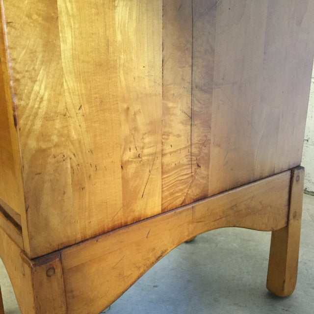 Early Heywood-Wakefield Style Desk For Sale - Image 10 of 13