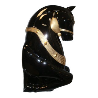 Deco Style Armored Horse Head For Sale